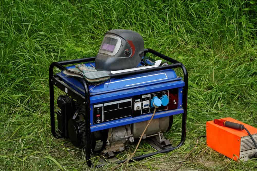 A Diesel Powered Engine Driven Welder Generator