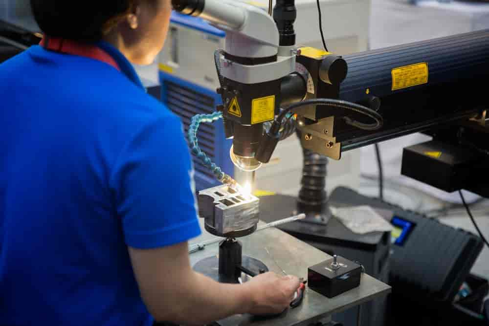 A Laser Welding Machine
