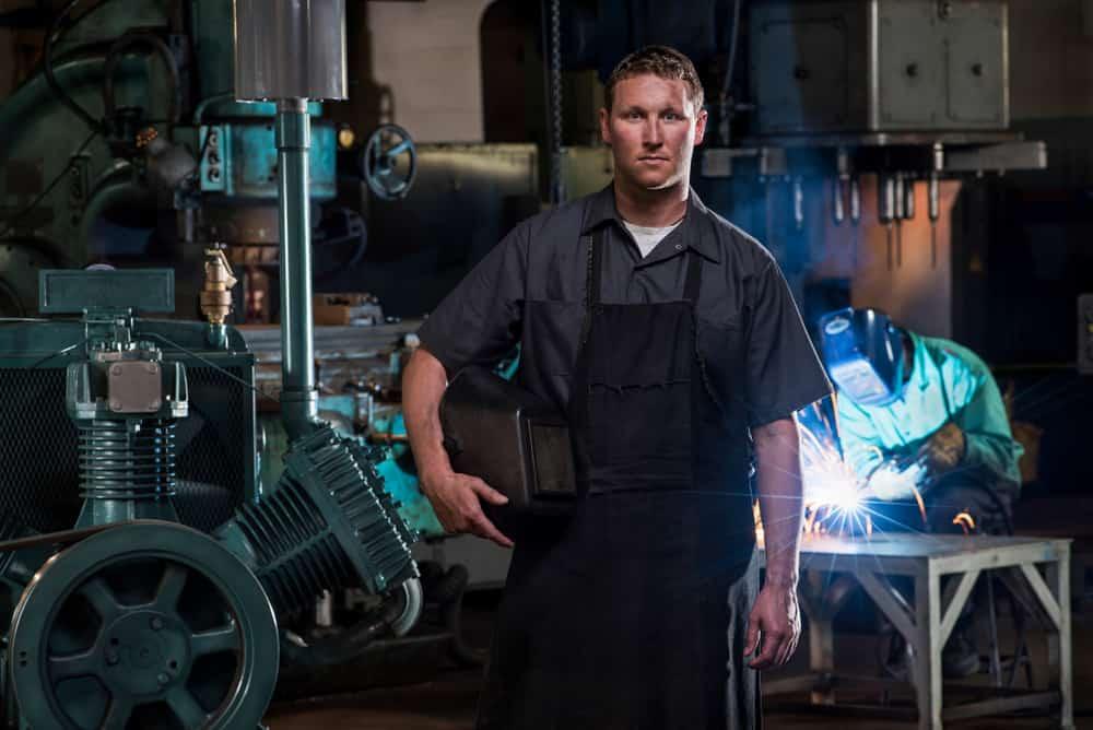 A new member of a welders union