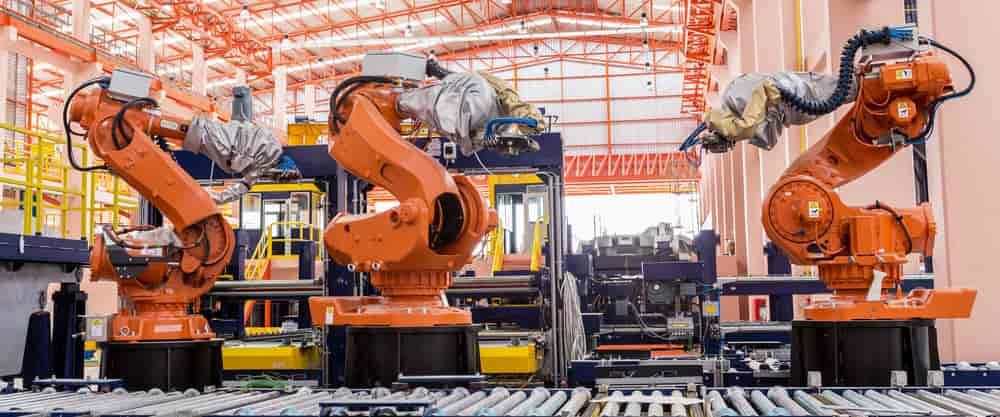 Industrial Robotic Welding Machine