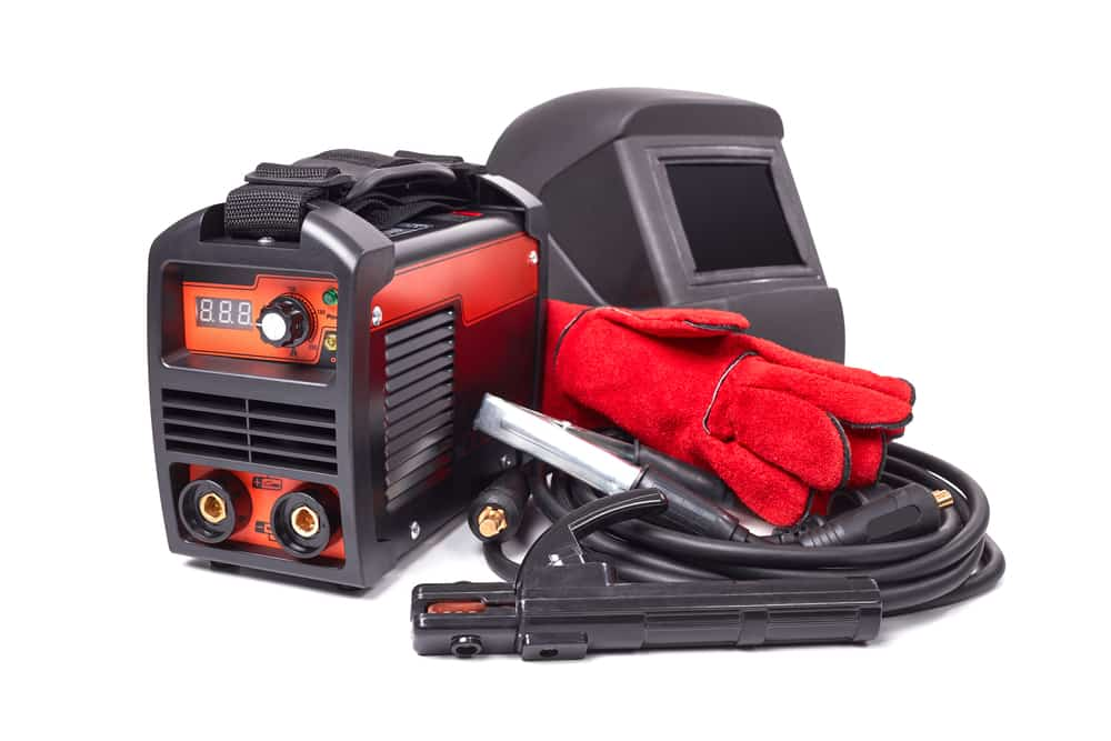 Inverter Welder with Safety Equipments