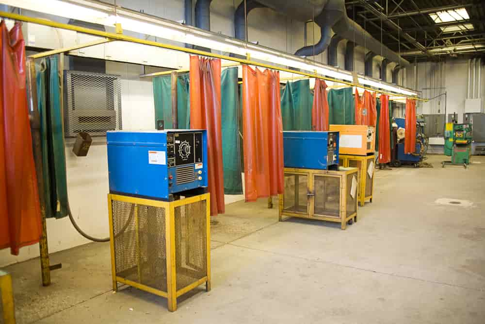 Welding Curtain - An Alternative of Welding Booth