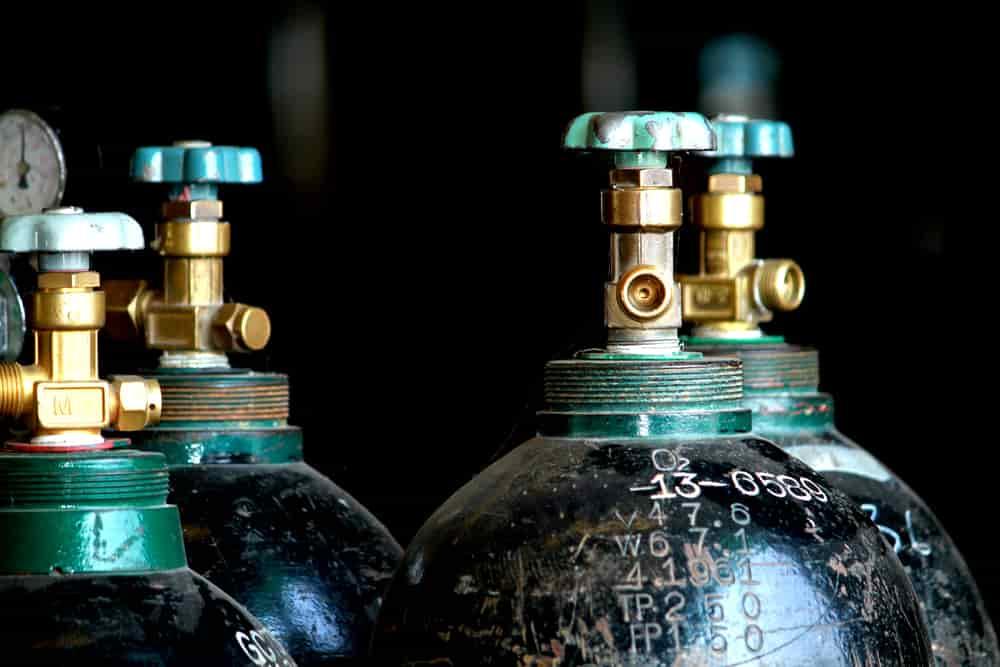 Welding Gas Tanks Valves