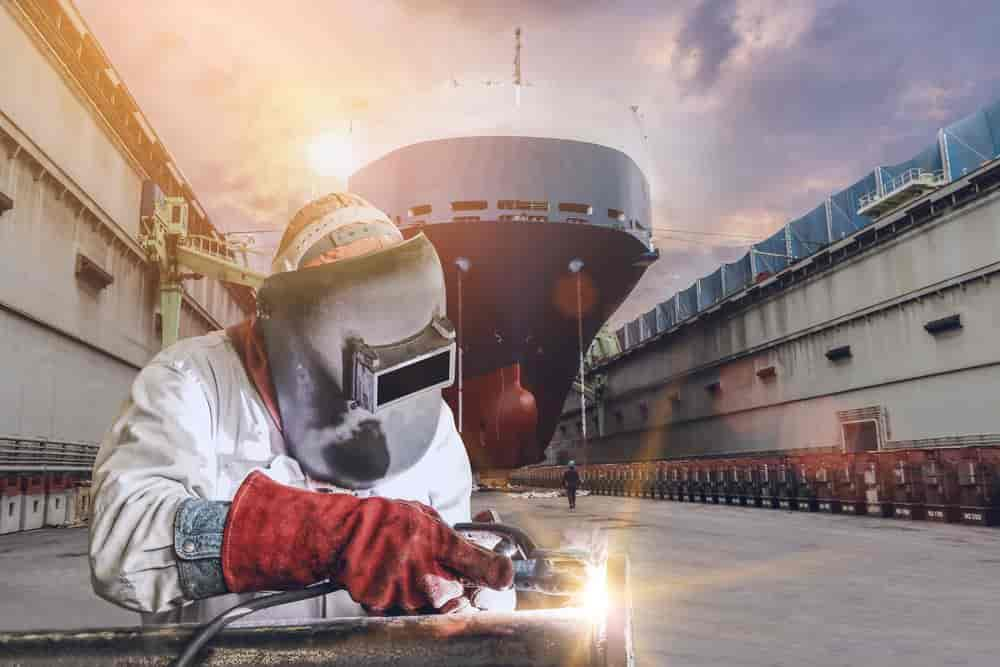 Shipping Welding Industry
