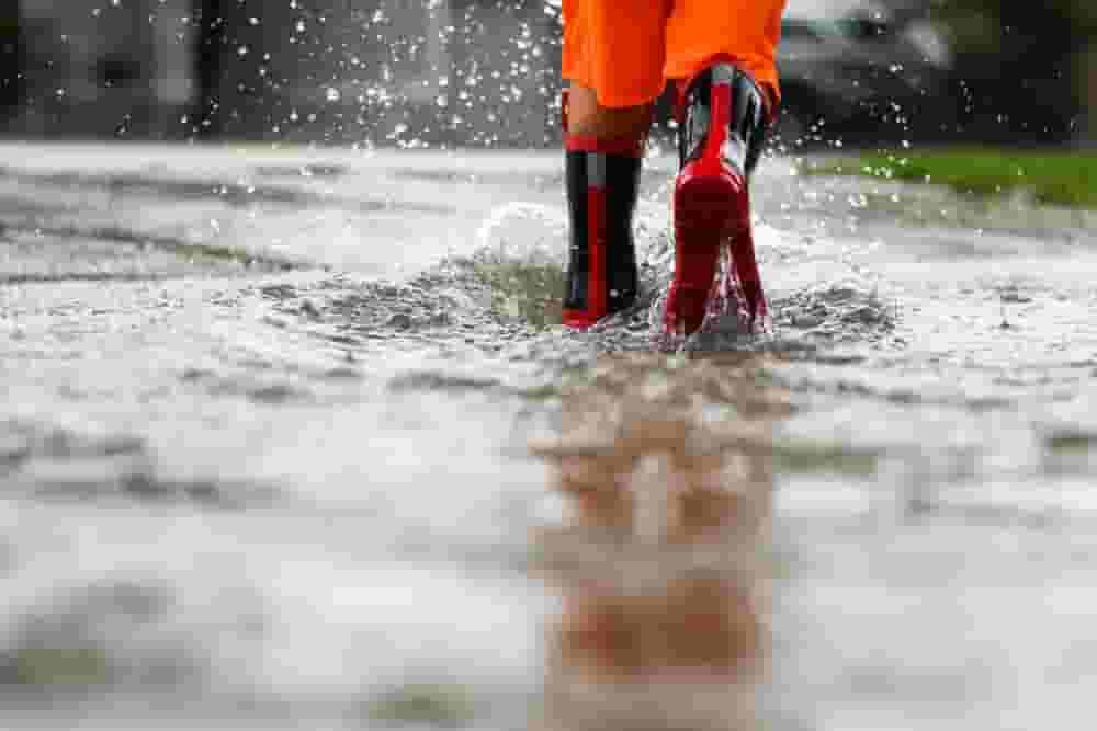 Welding In The Rain